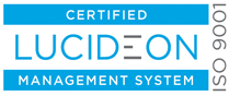 Certified Lucideon Management System - ISO9001