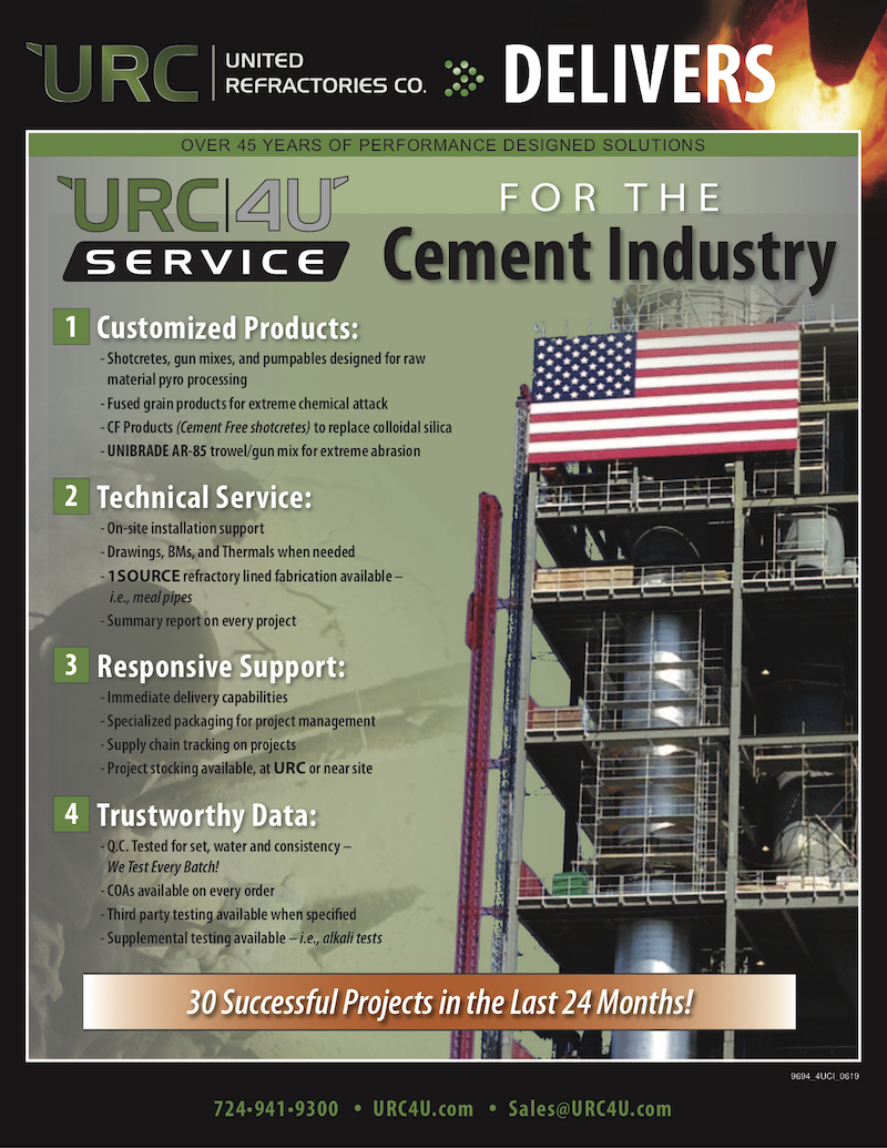 4U Service for Cement
