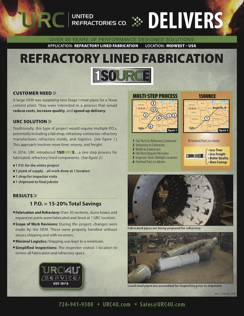 Refractory Lined Fabrication