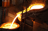 REFRACTORIES FOR IRON FOUNDRIES